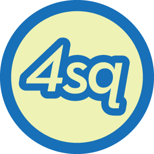 4sq Groupie badge