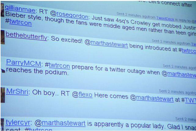 Twitter Stream TWTRCON NY 10