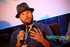Nic Adler from the Roxy at TWTRCON SF 10