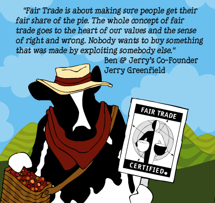 Ben & Jerry's Promotes Fair Trade via Twitter