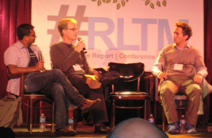 "Empire Avenue CEO Duleepa ""Dups"" Wijayawardhana, IBM's Kevin Winterfield and SocialFlow's Gilad Lotan discuss Social Media Influence at #RLTM Realtime NY 11"