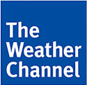 The Weather Channel Social features realtime tweets