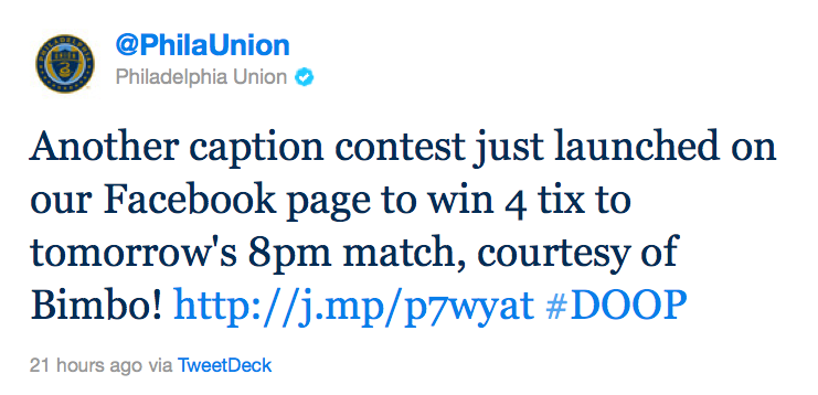 @PhilaUnion Twitter photo caption contest