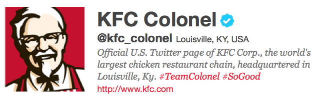 KFC Social Media Presence Sees Real ROI