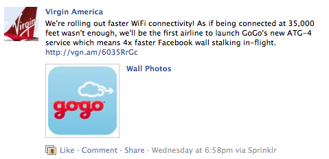 Virgin America Caters To Tech Savvy Audience Via Social Media