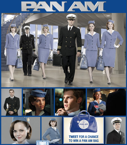 ABC Launches New Show Pan Am With Social Buzz. photo via Facebook page.