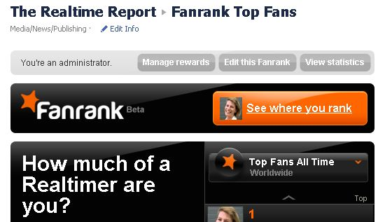 Fanrank gives your fans the tools to be influencers