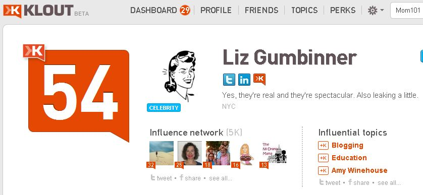 Klout is broken -- creating duplicate profiles and scores for some users.