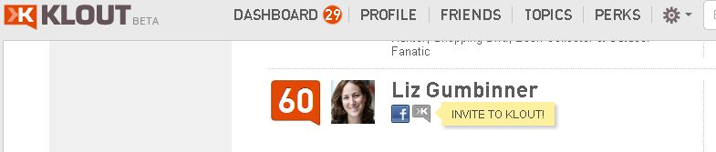 Klout is creating duplicate accounts from data scraped from Facebook.