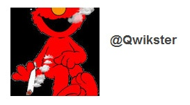 Social media fails:  the Qwikster Twitter avatar was a pot-smoking Elmo