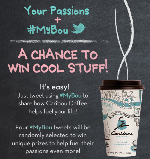Caribou Coffee #MyBou Twitter Campaign