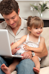 Social Media Dads: 42% of New Dads Post About Their Family Daily