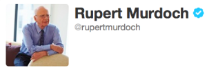 Rupert Murdoch Has Largest Twitter Following Out of Fortune 500 CEOs