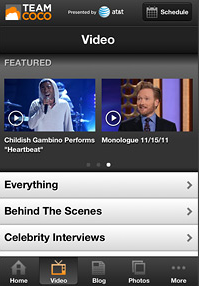 Team Coco App Engages Viewers (teamcoco.com)