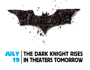 Oreo Daily Twist - Dark Knight Rises