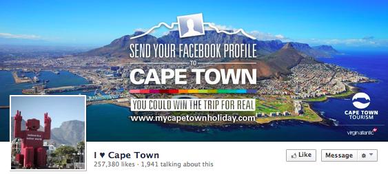 Cape Town Tourism Facebook App Contest