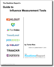 Guide to Influence Measurement Tools