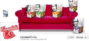 Campbell's Go Facebook page