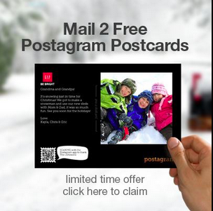 Gap Holiday Postcard Promotion