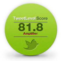 TweetLevel Badge for @RealtimeReport
