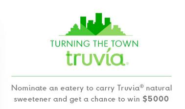 Truvia Social Media Campaign, Contest