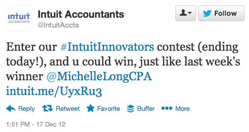 Intuit Innovators Contest