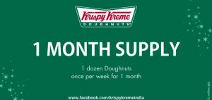 Krispy Kreme India Facebook special