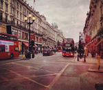 Regent St pic from tweet