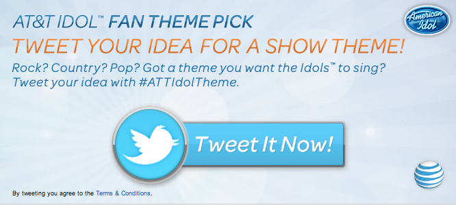 American Idol #ATTIdolTheme