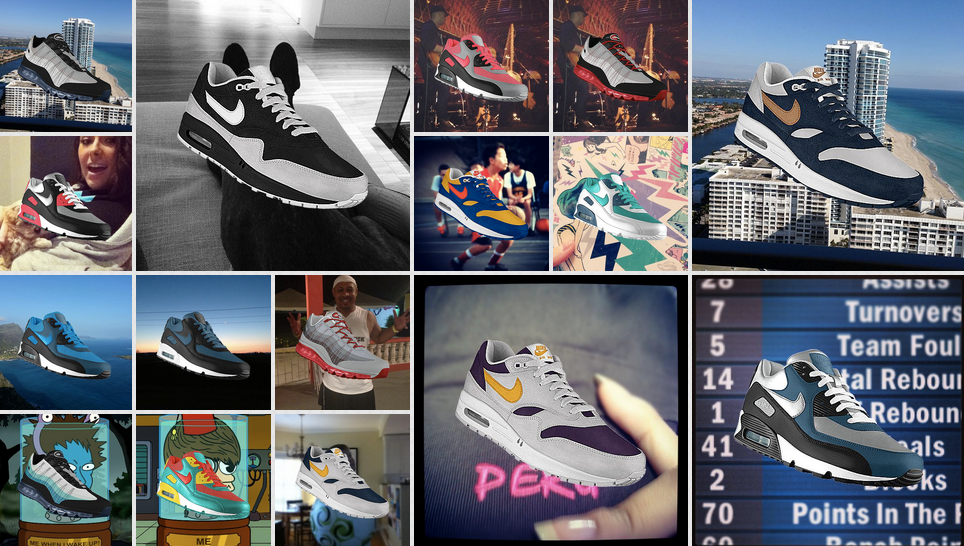 Create customized Nikes on Instagram