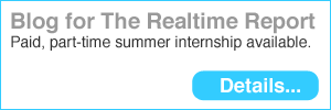 Blog for The Realtime Report. We're looking for a part-time, paid intern to help us out this summer.