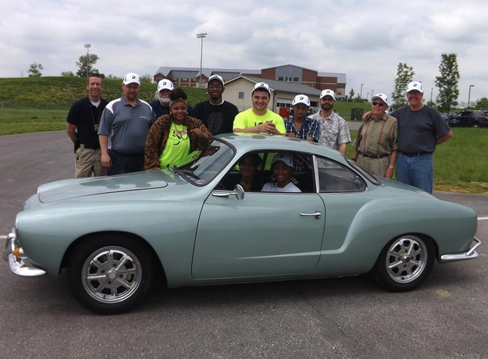Minddrive's Karmann Ghia is powered by social media