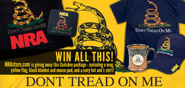 NRA Dont Tread On Me Twitter Campaign
