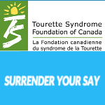 #SurrenderYourSay Raises Awareness for Tourette Syndrome on Twitter