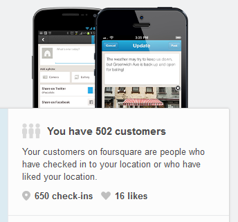 Foursquare customers