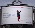 British Airways ad follows flights in realtime