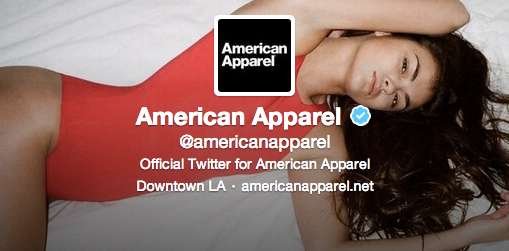 American Apparel on Twitter