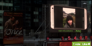 HTC One photo sharing campaign [image: HTC web site]