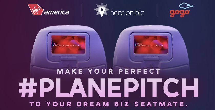 Virgin America #PlanePitch Promotion