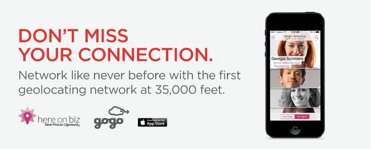 Virgin America's new in-flight social network