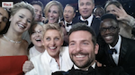 Ellen's Oscar selfie is a record-breaking tweet