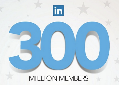 LinkedIn reaches 300 million members