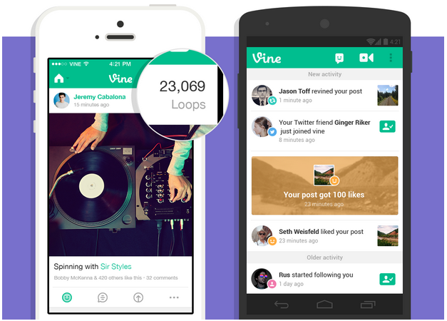 Vine Adds Loop Count, Updating Video Views in Realtime