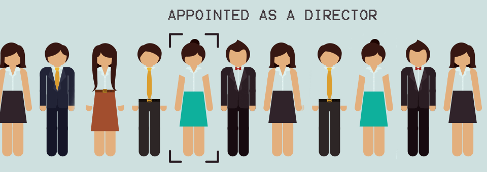 appointed as a company director