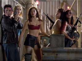 """I'm gonna eat your brains and gain your knowledge."" – Tony Block, ""Planet Terror,"" Dominion, 2007"