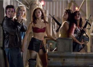 """""""I'm gonna eat your brains and gain your knowledge."""" – Tony Block, """"Planet Terror,"""" Dominion, 2007"""